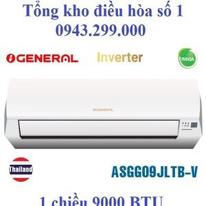 Điều hòa General 9000 BTU inverter 1 chiều ASGG09JLTB-V