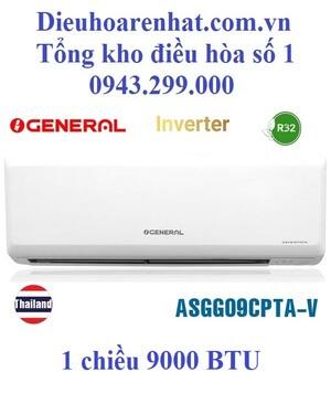 Điều hòa General 9000BTU 1 chiều inverter ASGG09CPTA-V
