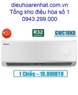 Điều hòa Gree 1 chiều 18000BTU GWC18KD-K6N0C4