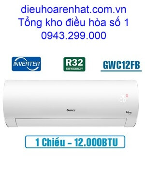 Điều hòa Gree 12.000BTU inverter 1 chiều GWC12FB-K6D9A1W