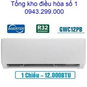 Điều hòa Gree 12000BTU 1 chiều inverter GWC12PB-K3D0P4