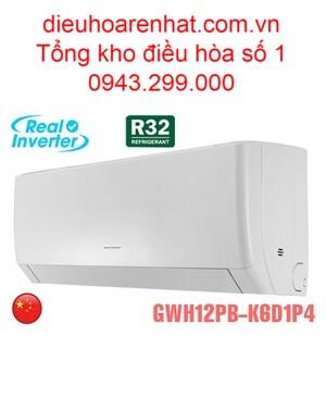Điều hòa Gree 12000BTU 2 chiều inverter GWH12PB-K6D1P4