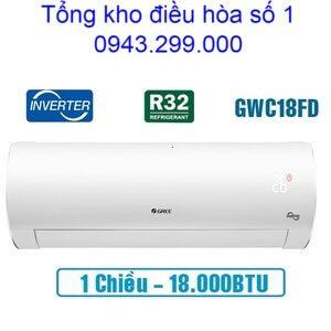 Điều hòa Gree 18.000BTU inverter 1 chiều GWC18FD-K6D9A1W