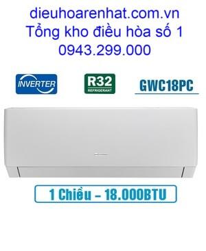 Điều hòa Gree 18000BTU 1 chiều inverter GWC18PC-K3D0P4