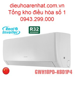 Điều hòa Gree 18000BTU 2 chiều inverter GWH18PD-K6D1P4