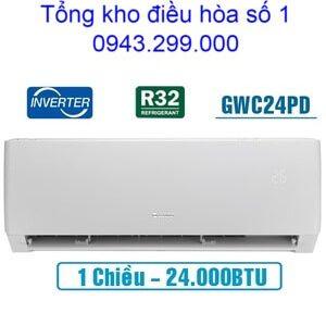 Điều hòa Gree 24000BTU 1 chiều inverter GWC24PD-K3D0P4