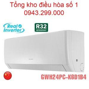 Điều hòa Gree 24000BTU 2 chiều inverter GWH24PC-K6D1B4