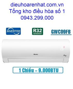 Điều hòa Gree 9.000BTU inverter 1 chiều GWC09FB-K6D9A1W