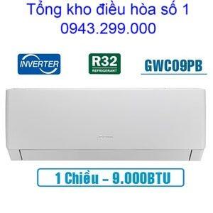 Điều hòa Gree 9000BTU 1 chiều inverter GWC09PB-K3D0P4