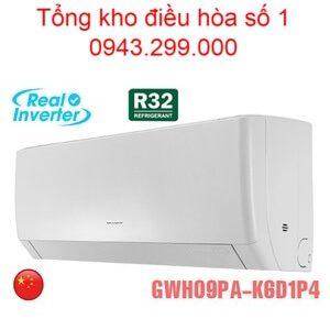 Điều hòa Gree 9000BTU 2 chiều inverter GWH09PA-K6D1P4