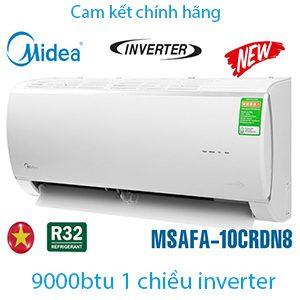 Điều hòa Midea 9000btu 1 chiều inverter MSAFA-10CRDN8