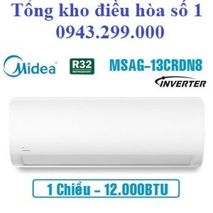 Điều hòa Midea inverter 12000BTU 1 chiều MSAG-13CRDN8