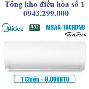 Điều hòa Midea inverter 9000BTU 1 chiều MSAG-10CRDN8