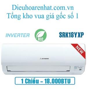 Điều hòa Mitsubishi Heavy 18000BTU 1 chiều inverter SRK/SRC18YXP-W5