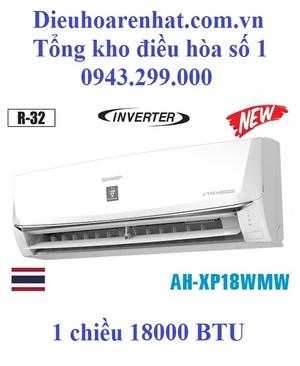 Điều hòa Sharp 18000 BTU inverter 1 chiều AH-XP18WMW