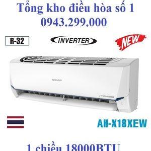 Điều hòa Sharp inverter 18000 BTU 1 chiều AH-X18XEW