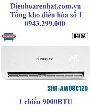 Điều hòa Sunhouse 9000 BTU 1 chiều SHR-AW09C120