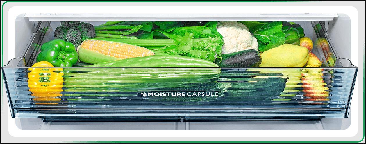 Tủ lạnh Sharp giữ nguyên sự tươi ngon
