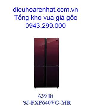 TỦ LẠNH SHARP 4 CỬA 639 lít SJ-FXP640VG-MR