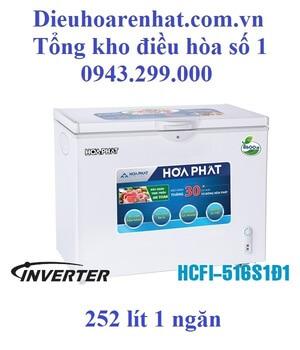 Tủ đông Funiki inverter 1 ngăn 1 cánh 252l HCFI-516S1Ð1