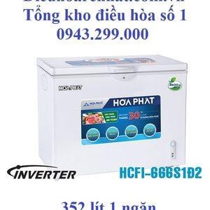 Tủ đông Funiki inverter 1 ngăn 2 cánh 352l HCFI-666S1Ð2
