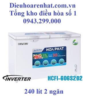 Tủ đông Funiki inverter 2 ngăn 2 cánh 240l HCFI-606S2Ð2