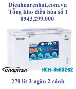 Tủ đông Funiki inverter 2 ngăn 2 cánh 270l HCFI-656S2Ð2