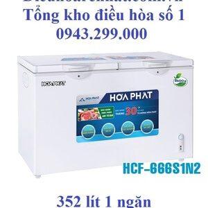 Tủ đông Hòa Phát 352l 1 ngăn dàn Nhôm HCF-666S1N2