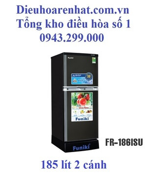 Tủ lạnh Funiki 185l 2 cánh FR-186ISU
