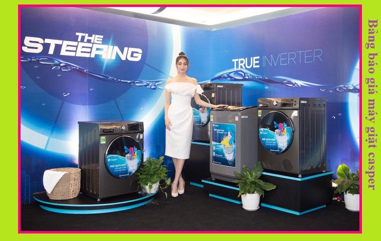 Bảng báo giá máy giặt casper