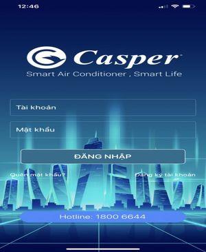 Kích hoạt bảo hành máy giặt Casper