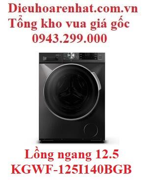 Máy giặt Casper Inverter 12.5 KG lồng ngang WF-125I140BGB