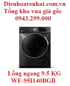 Máy giặt Casper lồng ngang 9.5 KG Inverter WF-95I140BGB