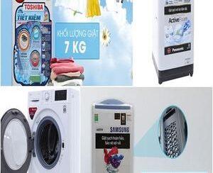 Mua máy giặt hãng nào.