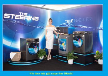 Nên mua máy giặt casper hay Hitachi