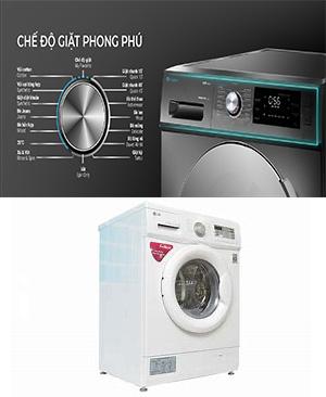 So sánh máy giặt casper và máy giặt LG