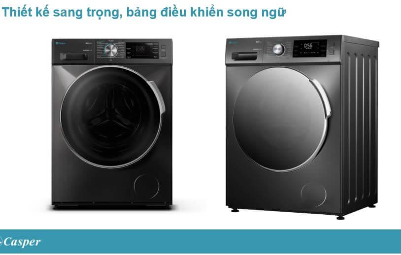 Thiết kế máy giặt Casper