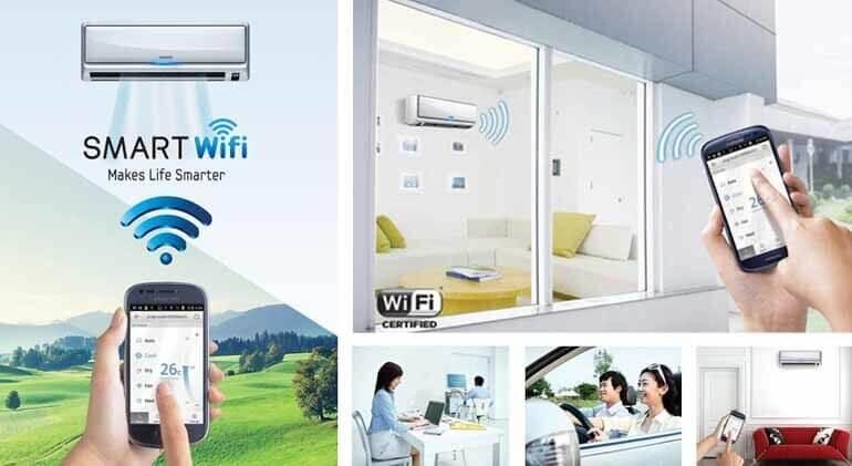 Công nghệ wifi điều hòa mọi lúc, mọi nơi