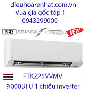 Điều hòa daikin FTKZ25VVMV 9000btu 1 chiều inverter
