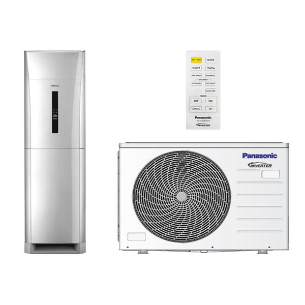 Kiểm tra các nút chức năng của điều hòa Panasonic tủ đứng cũ