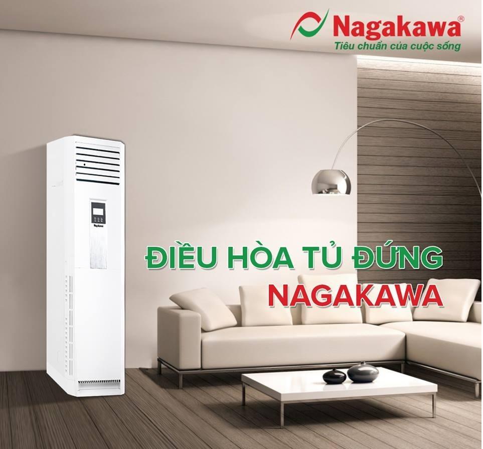 Điều hòa tủ đứng nagakawa giá thành phù hợp