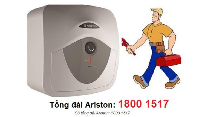 Bảo hành bình nóng lạnh Ariston tại nhà