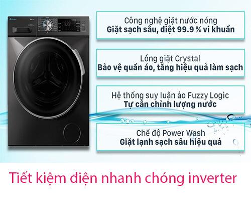 Máy giặt casper tiết kiệm điện