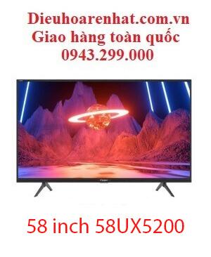 Tivi Casper 58 inch 58UX5200 4k Ultra HD