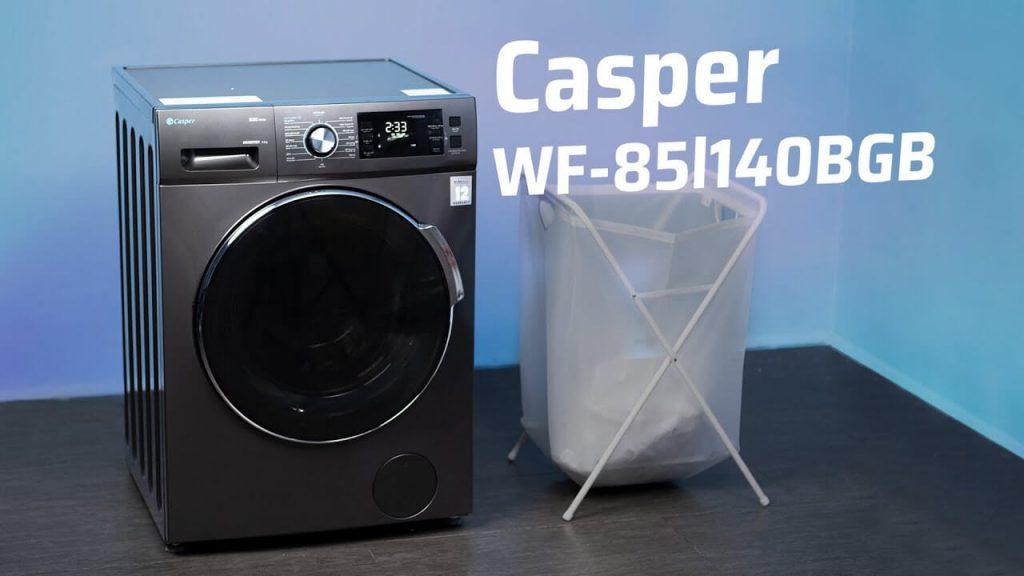 Trải nghiệm máy giặt casper