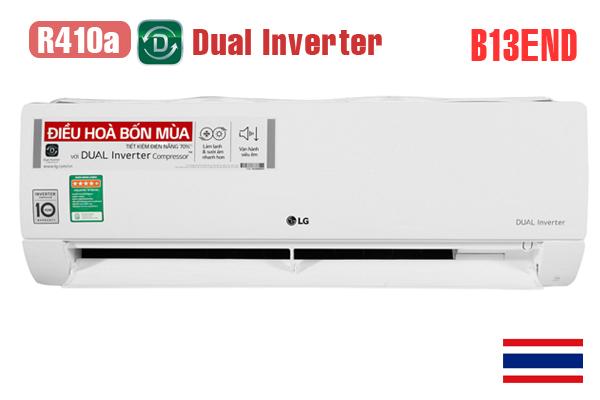 Điều hòa lg 12000 2 chiều Inverter B13END