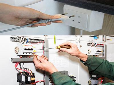 kiểm tra nguồn điện trong nhà