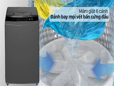 máy giặt casper 6 mâm giặt