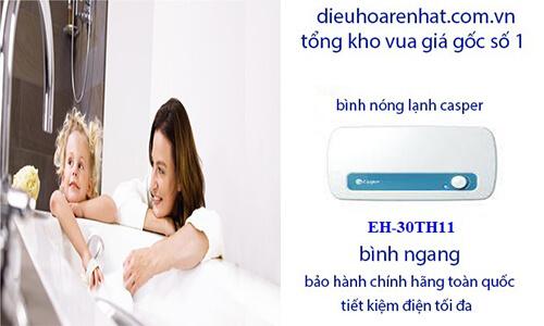 Bình nước nóng casper EH-30TH11 30l an toàn cho trẻ nhỏ