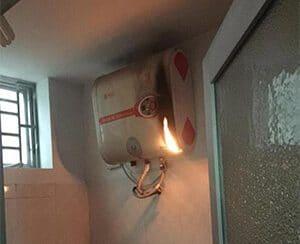 Những nguy hiểm khi sử dụng bình nóng lạnh